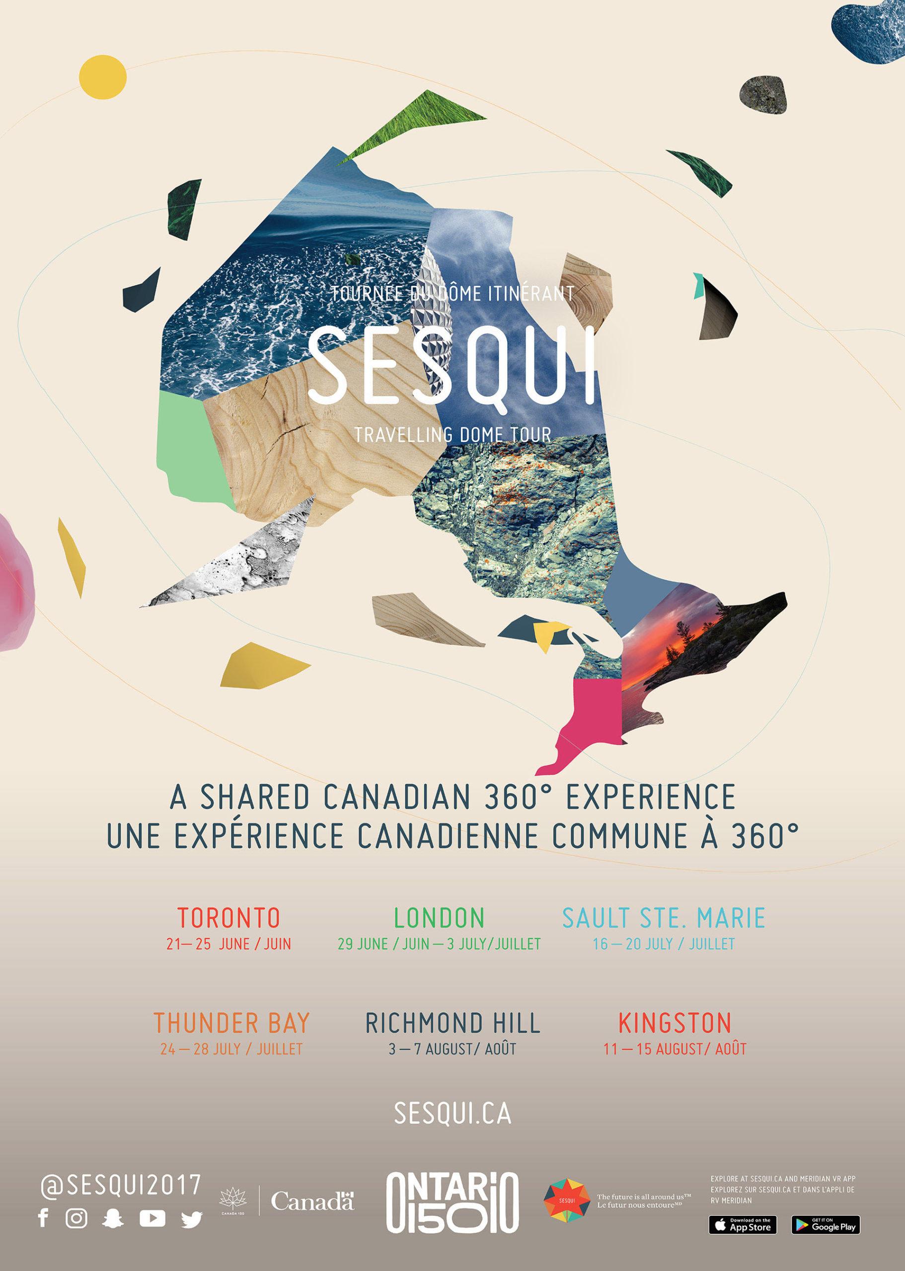 Sesqui Tour Poster