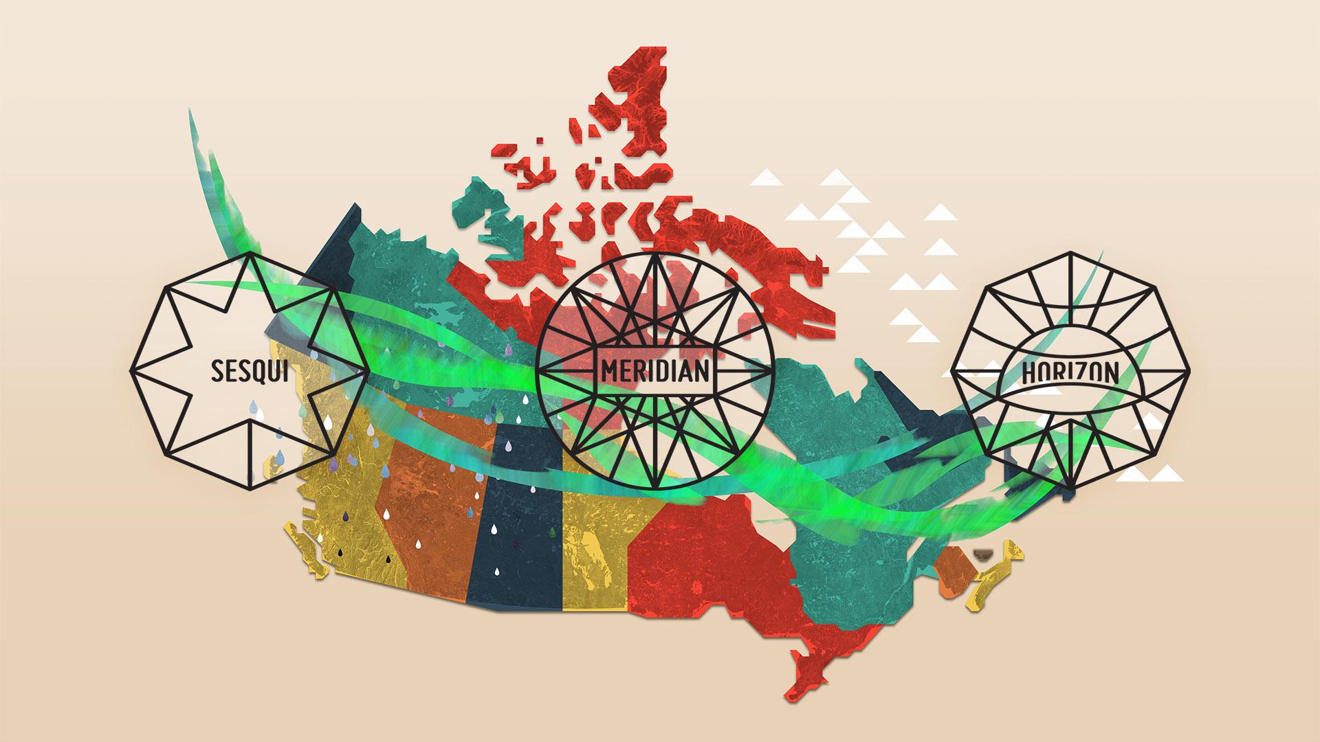 Sesqui Canada Map
